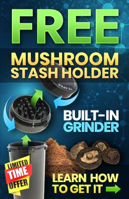 Free Mushroom grinder Promotion