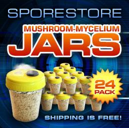 Mushroom Grow Jars